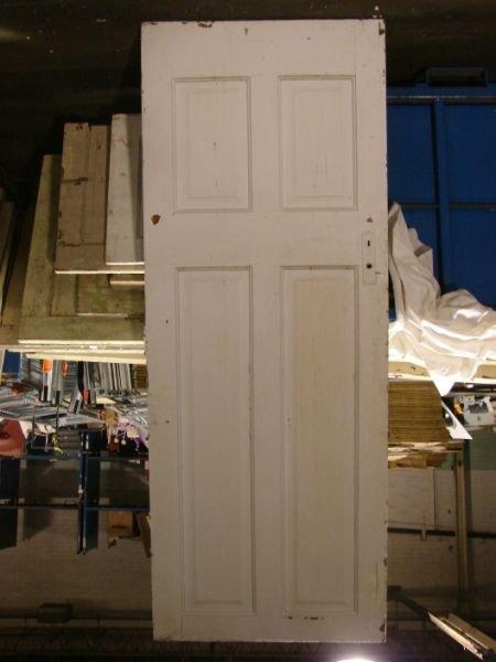 4: Solid Pine Door