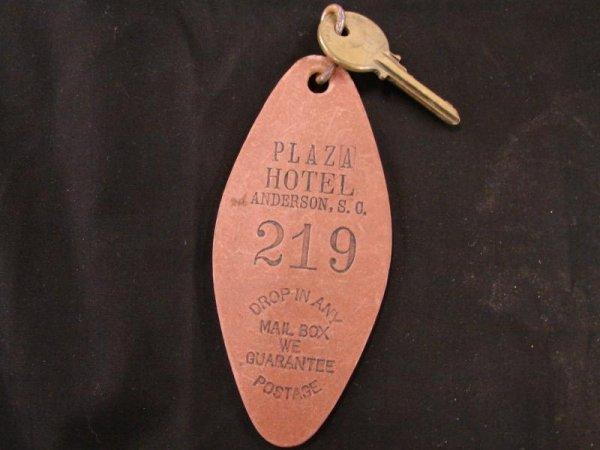 138: Original Key - Plaza Hotle