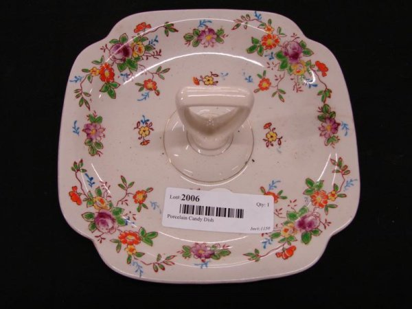 2006: Porcelain Candy Dish