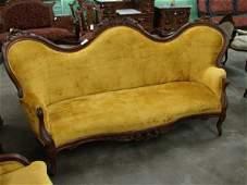 2290: Eastlake Renaissance Style Sofa