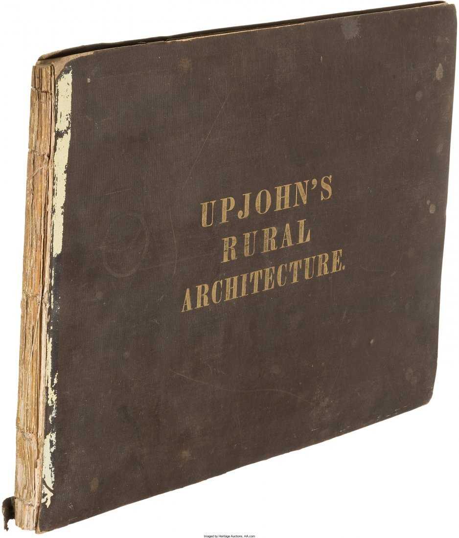 45198: Richard Upjohn. Upjohn's Rural Architecture. Des - 2