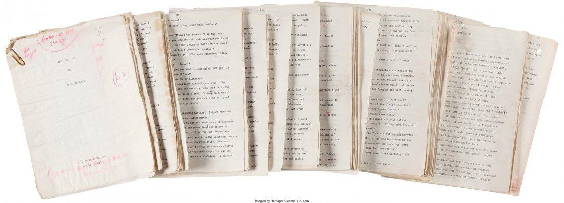 45010: Mickey Spillane. Original Typescript Manuscript