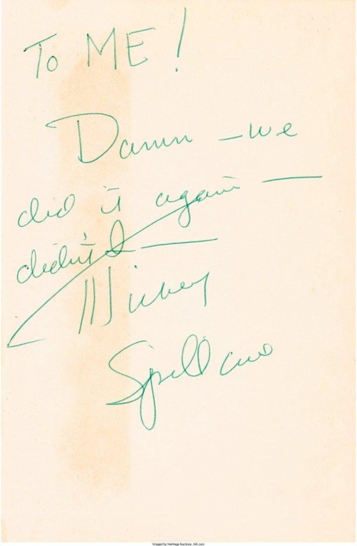 45013: Mickey Spillane. The Deep. New York: E. P. Dutto