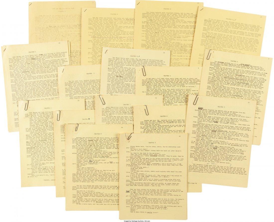 45015: Mickey Spillane. Original Typescript and Galley