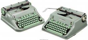 45314: [Larry McMurtry]. Pair of Hermes 3000 Typewriter