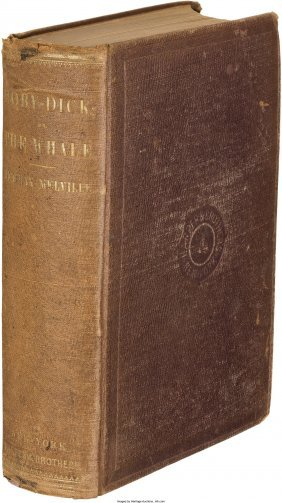 45315: Herman Melville. Moby-Dick; or, The Whale. New Y