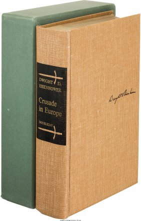 45123: Dwight Eisenhower. Crusade in Europe. Garden Cit