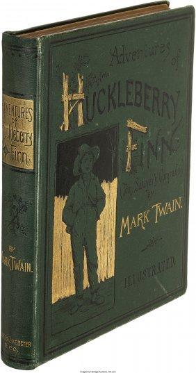 45332: Mark Twain. Adventures of Huckleberry Finn. New