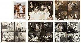 45044: [Mickey Spillane]. Album of Photographs of Spill
