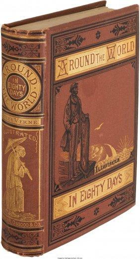 45255: Jules Verne. Around the World in Eighty Days. Bo