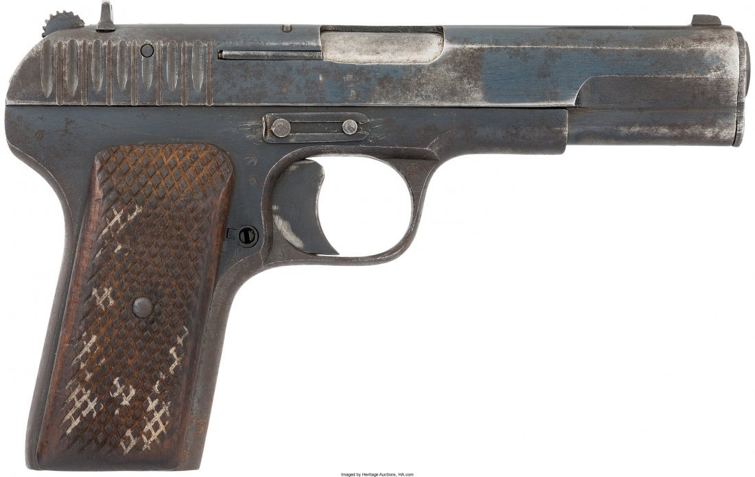 45064: [Mickey Spillane]. Russian Tokarev TT-33 Semi-Au