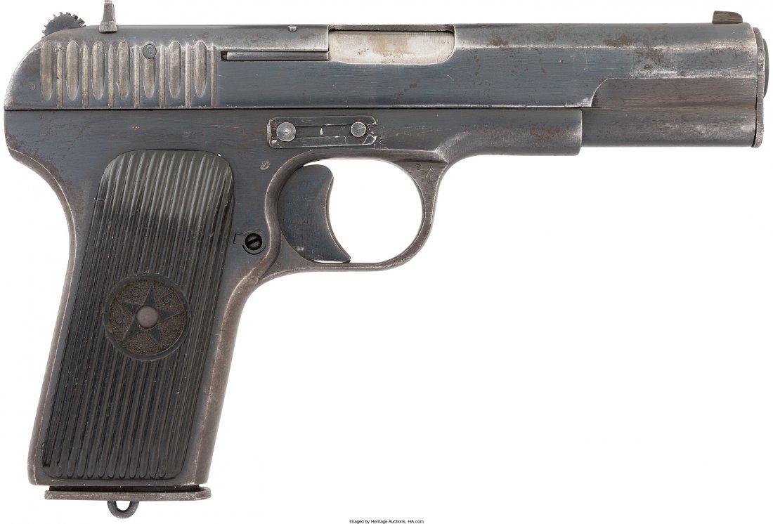 45065: [Mickey Spillane]. Russian Tokarev TT-33 Semi-Au