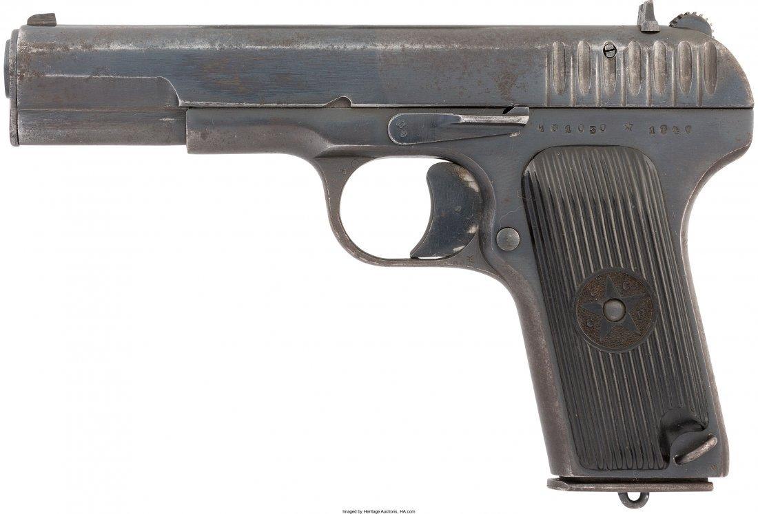 45065: [Mickey Spillane]. Russian Tokarev TT-33 Semi-Au - 2