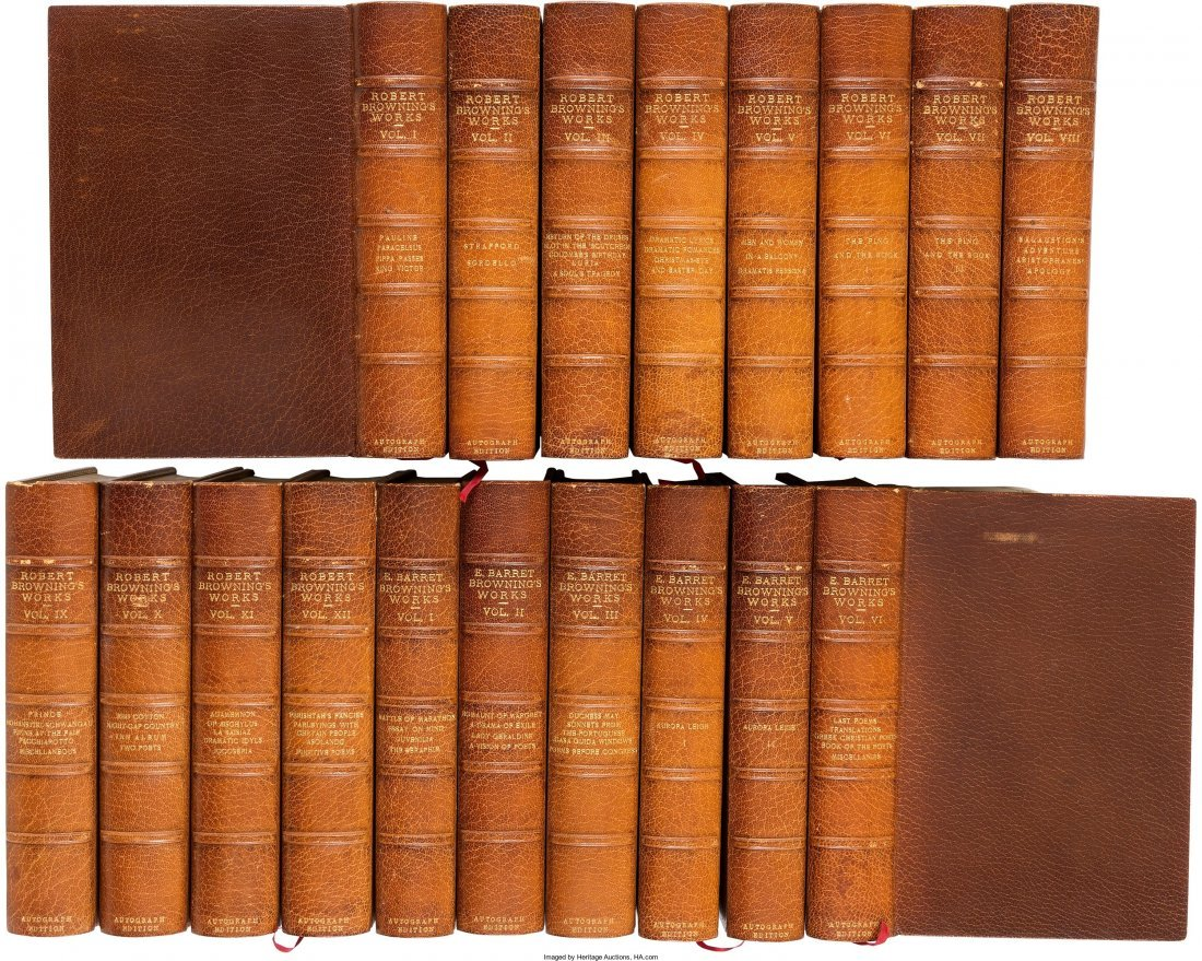 45261: [Robert Browning and Elizabeth Barrett Browning]