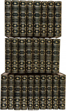 45273: Robert Louis Stevenson. The Works of Robert Loui
