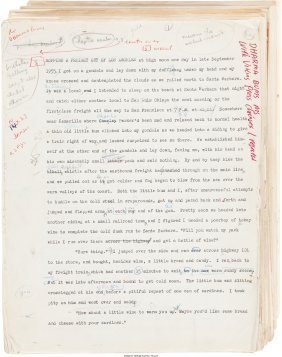 45379: Jack Kerouac (John Louis Kerouac). Original Type