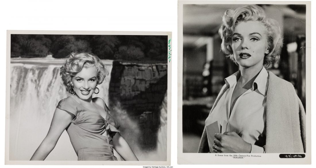89006: A Marilyn Monroe Group of Black and White Public - 2