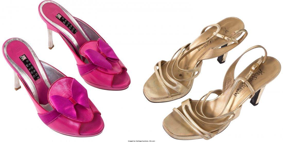 """89011: A Farrah Fawcett Pair of High Heels from """"All of"""