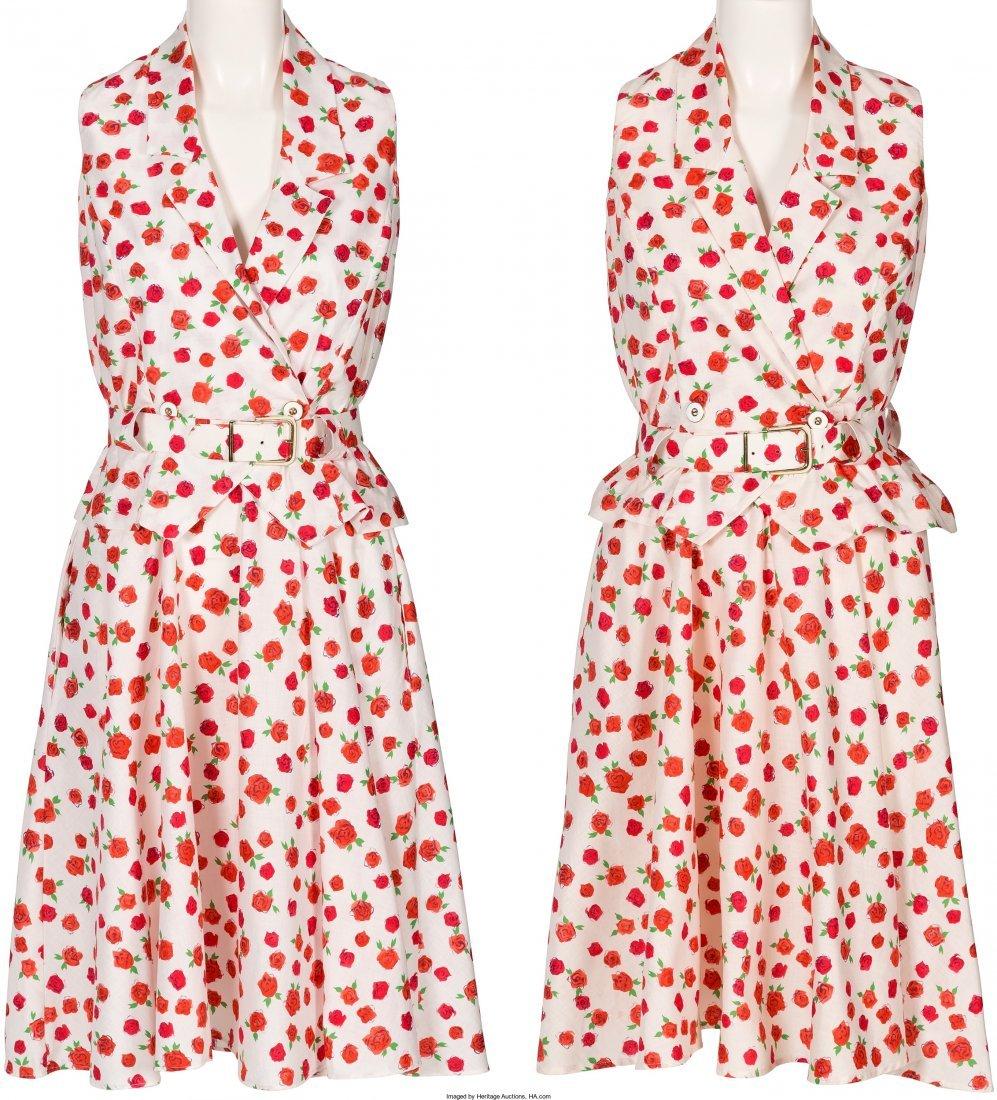 89018: A Farrah Fawcett Set of Identical Summer Dresses