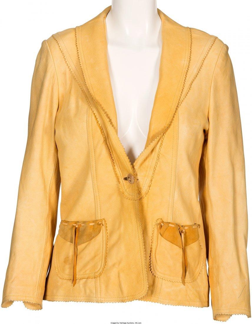 "89019: A Farrah Fawcett Jacket from ""Small Sacrifices."""