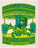 89301 Johnny Cash Signed Original 1968 Concert Poster