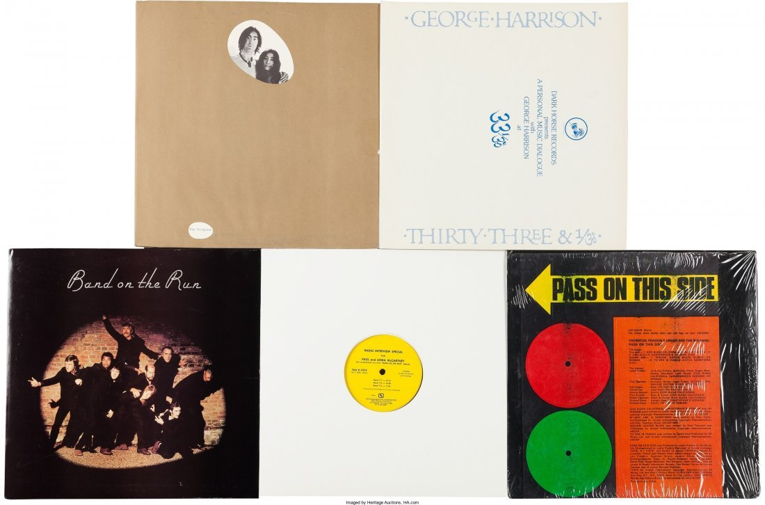89582: John, Paul, George LP Group And Script Including