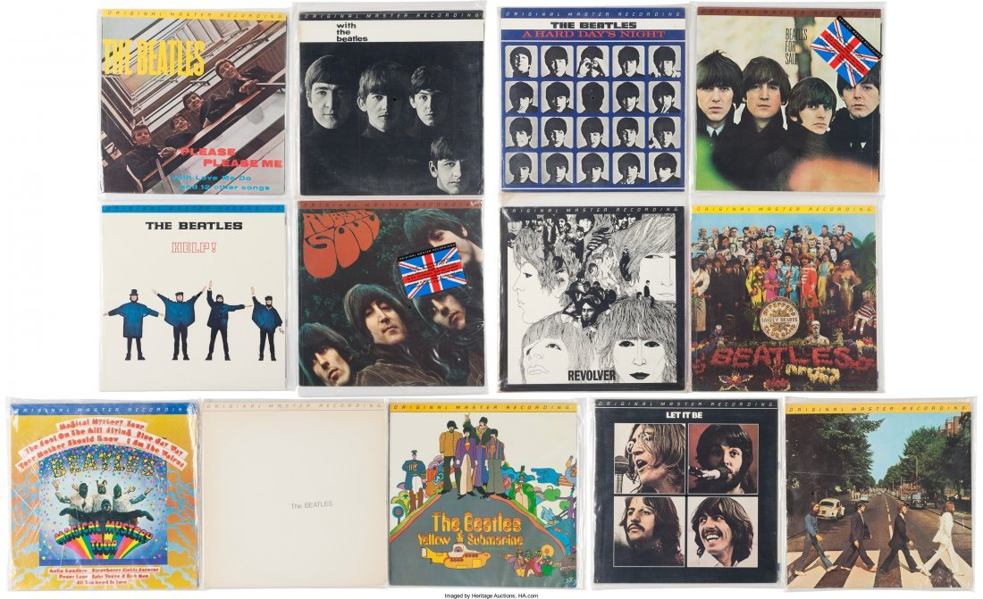 89318: Beatles - Complete Collection of All Thirteen Or