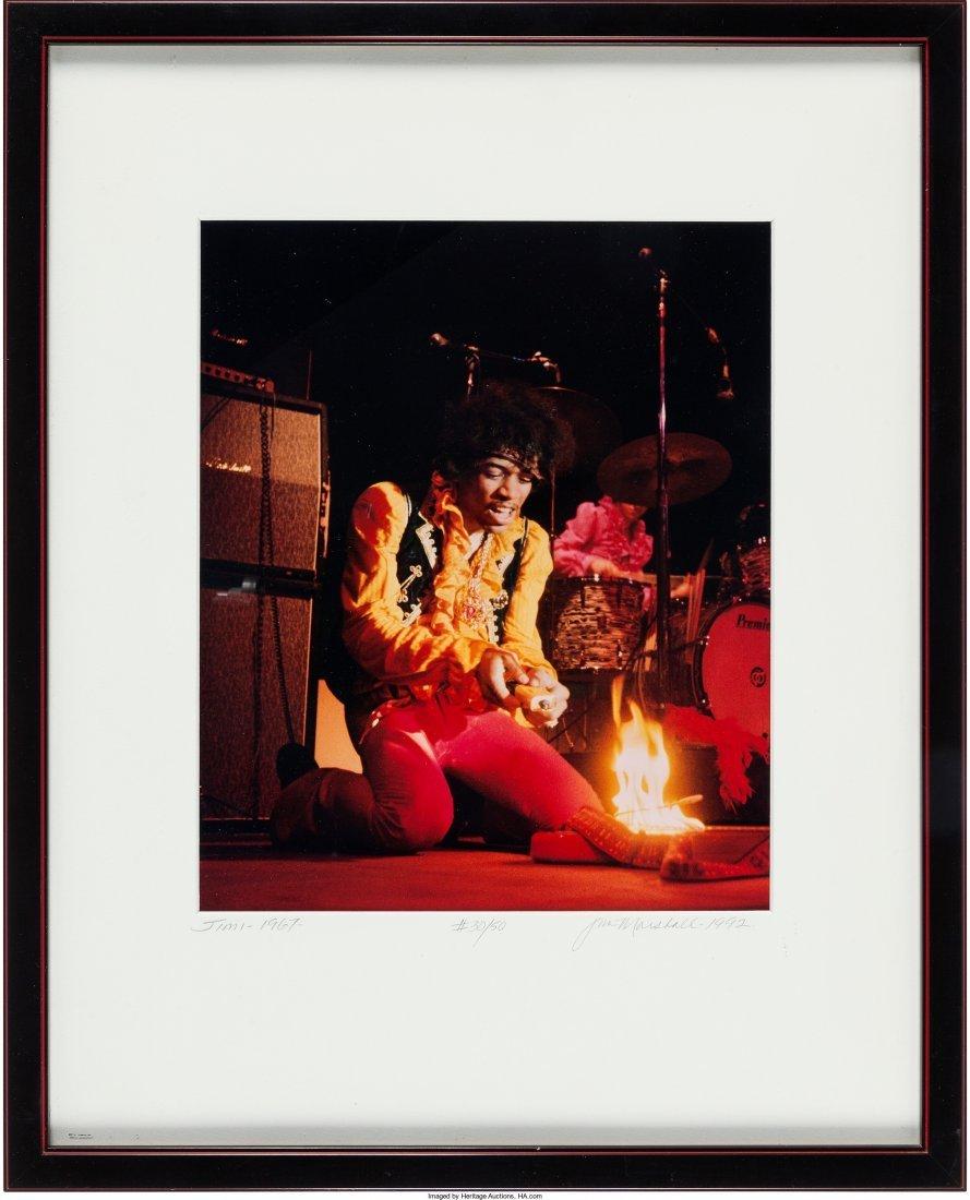 89509: Jimi Hendrix Color Photo Limited Print by Jim Ma