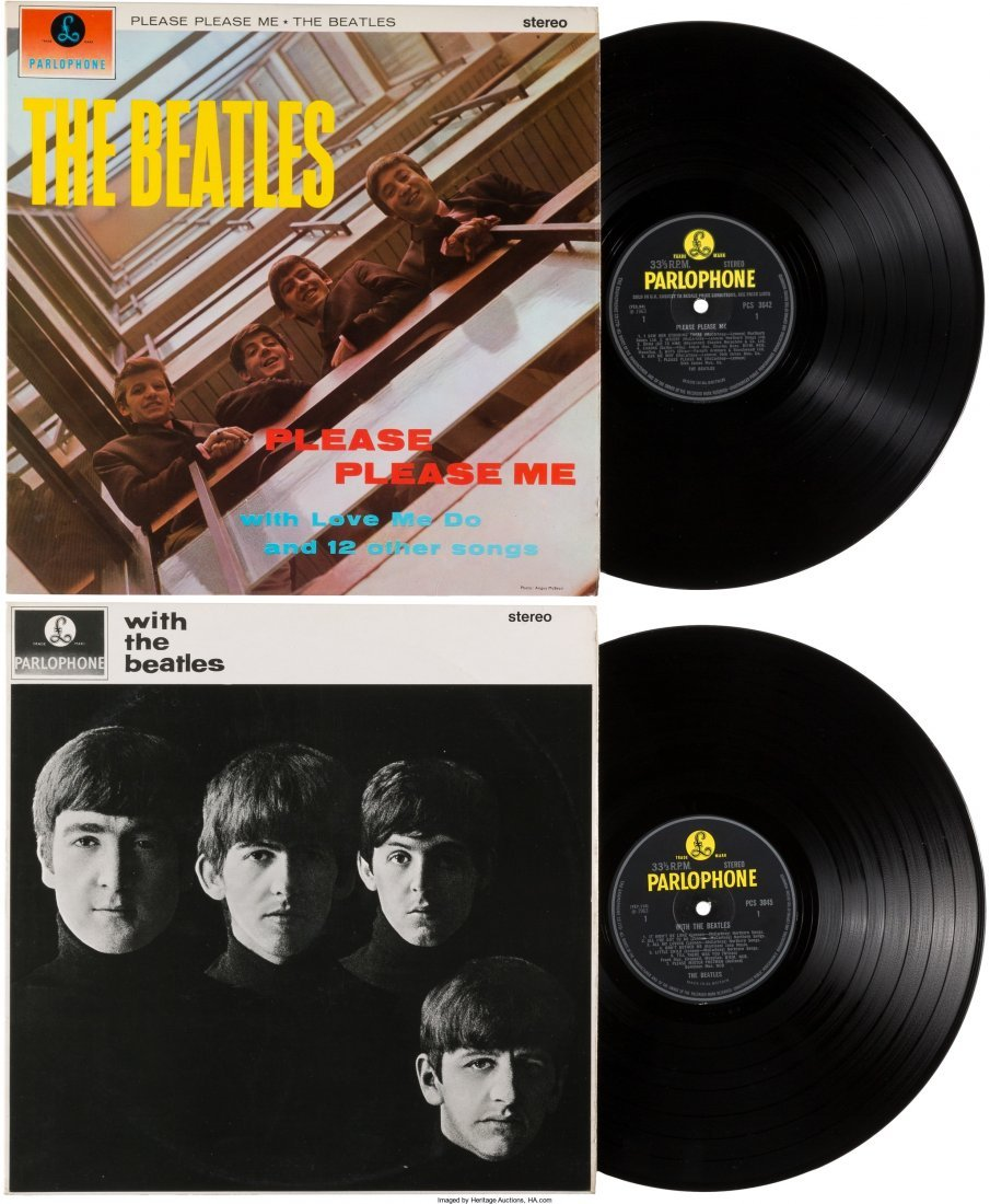 89586: Beatles - Please Please Me and With The Beatles
