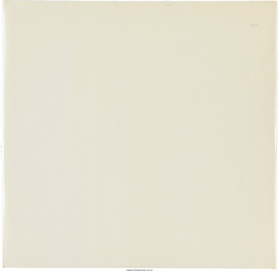 """89589: The Beatles (""""The White Album"""") Numbered 0537185 - 2"""