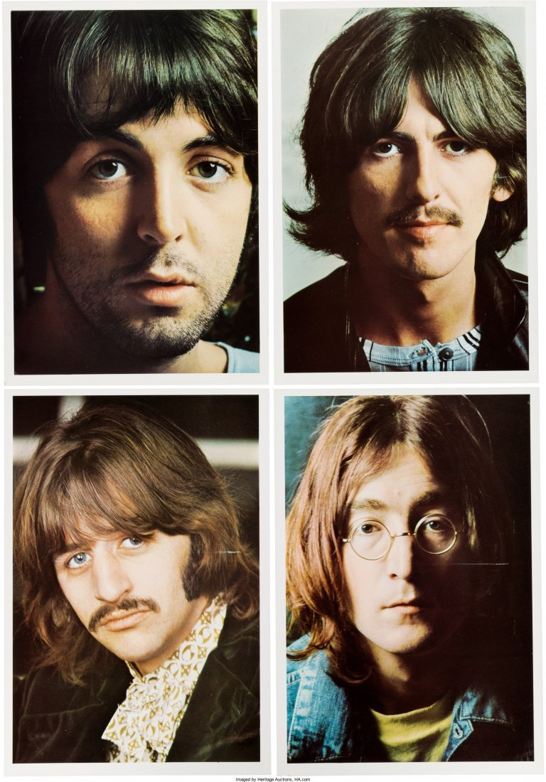 """89589: The Beatles (""""The White Album"""") Numbered 0537185 - 4"""