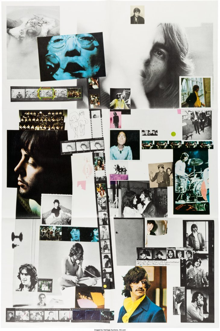 """89589: The Beatles (""""The White Album"""") Numbered 0537185 - 5"""