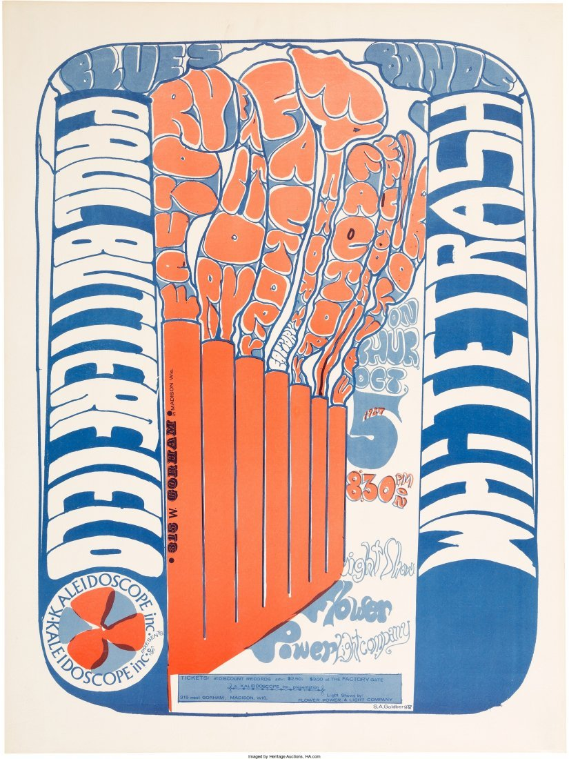 89598: Paul Butterfield Blues Band Factory Concert Post