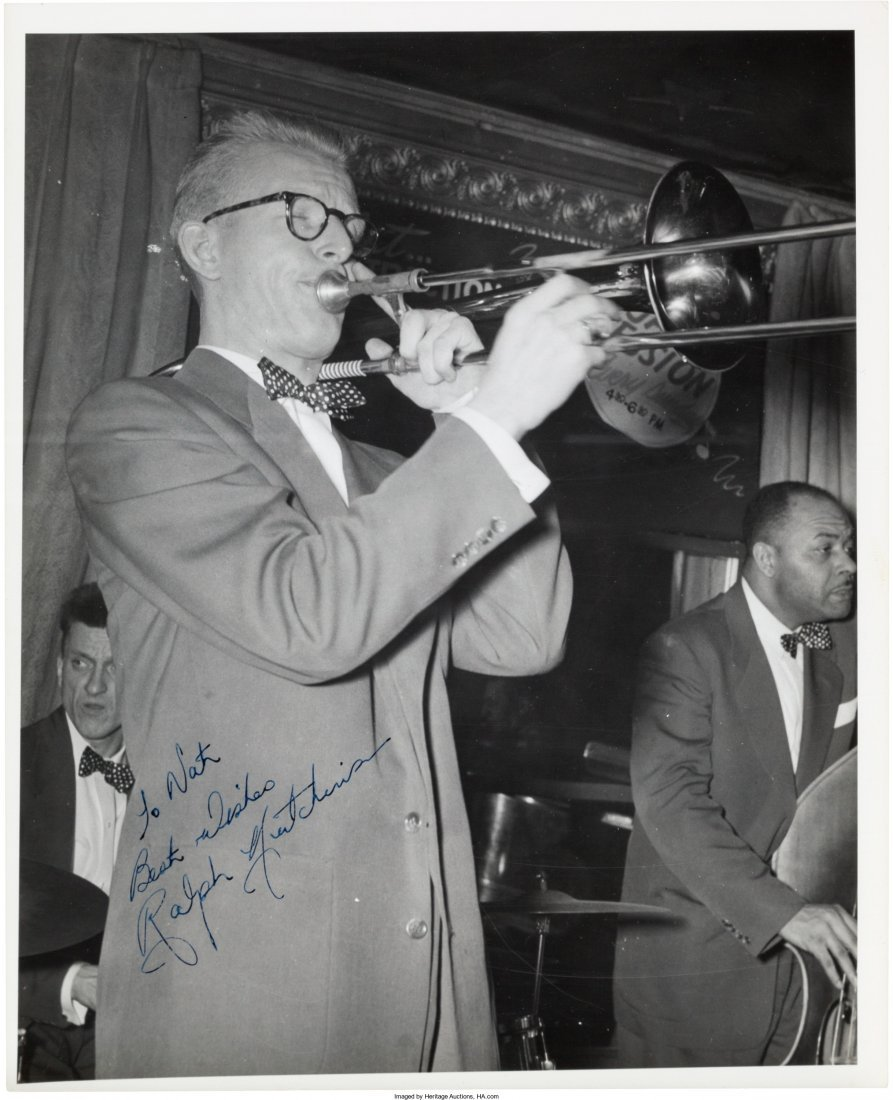89616: Jazz - Group of Seventeen Signed Black and White - 5