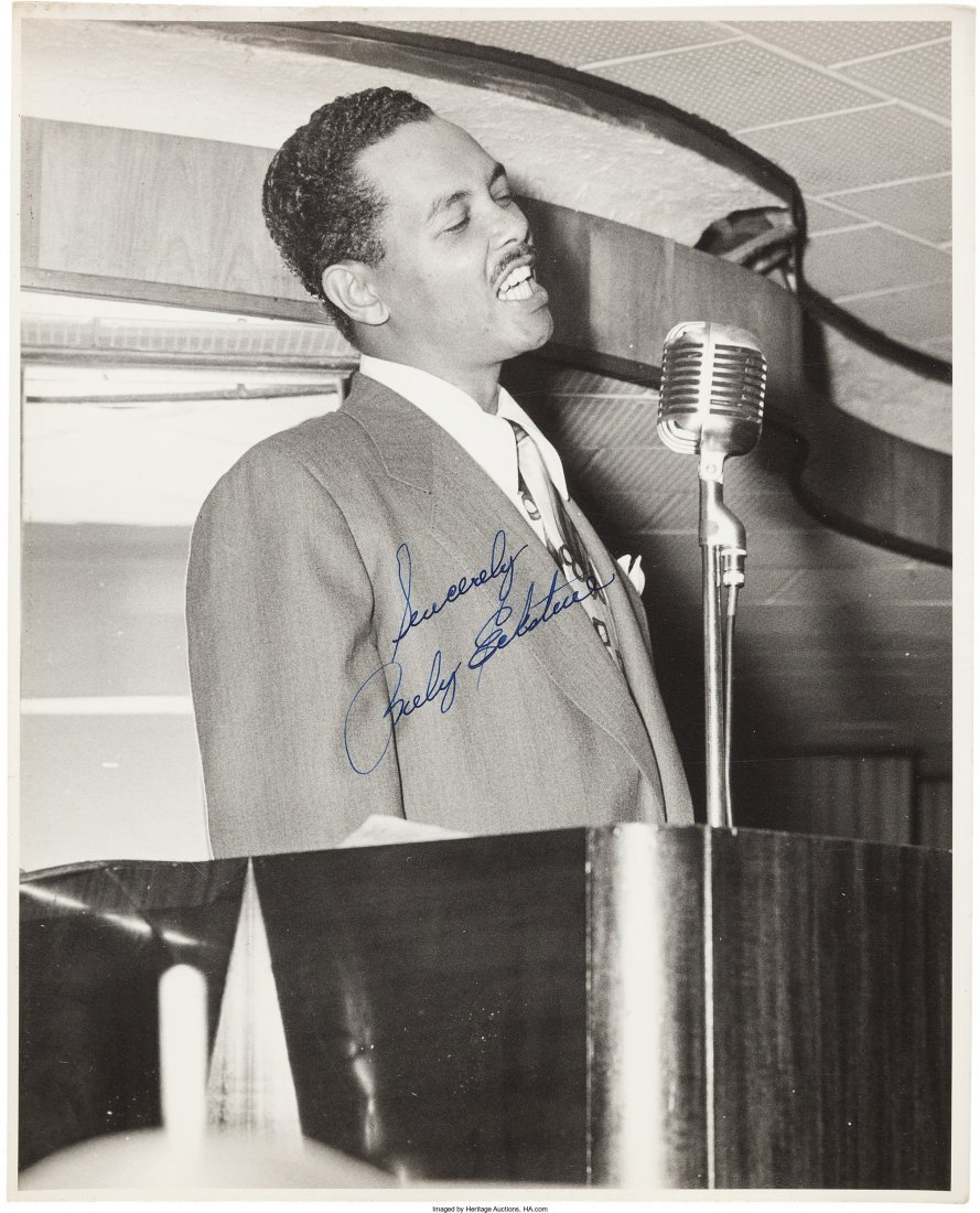 89466: Jazz - Twenty Signed Photographs Of Male Jazz Si - 4