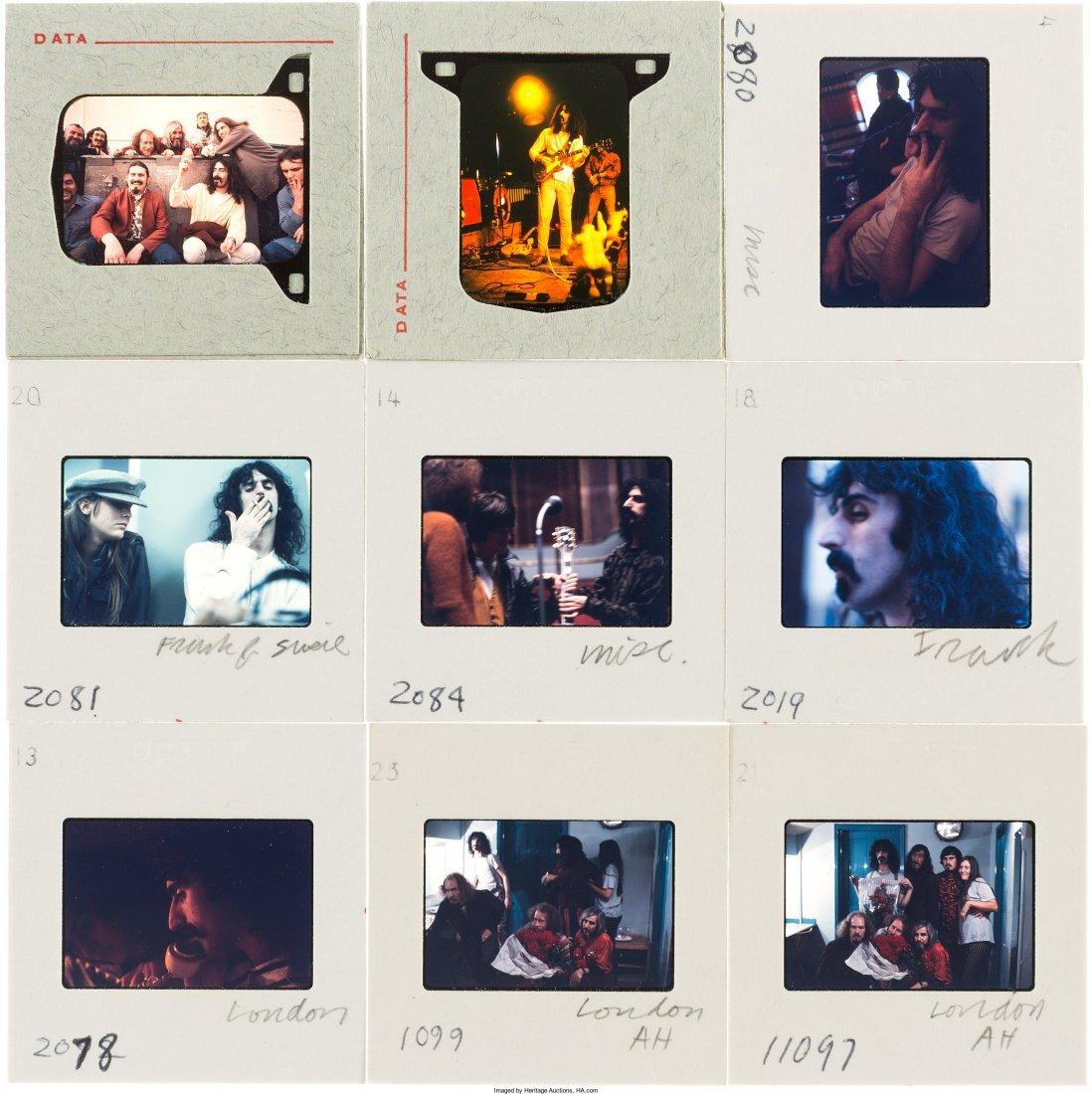 89578: Frank Zappa - Set of Fifty Color Photo Slides (L