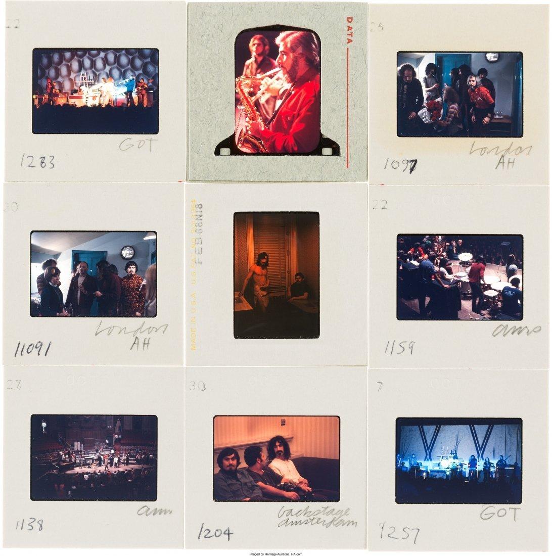 89578: Frank Zappa - Set of Fifty Color Photo Slides (L - 2