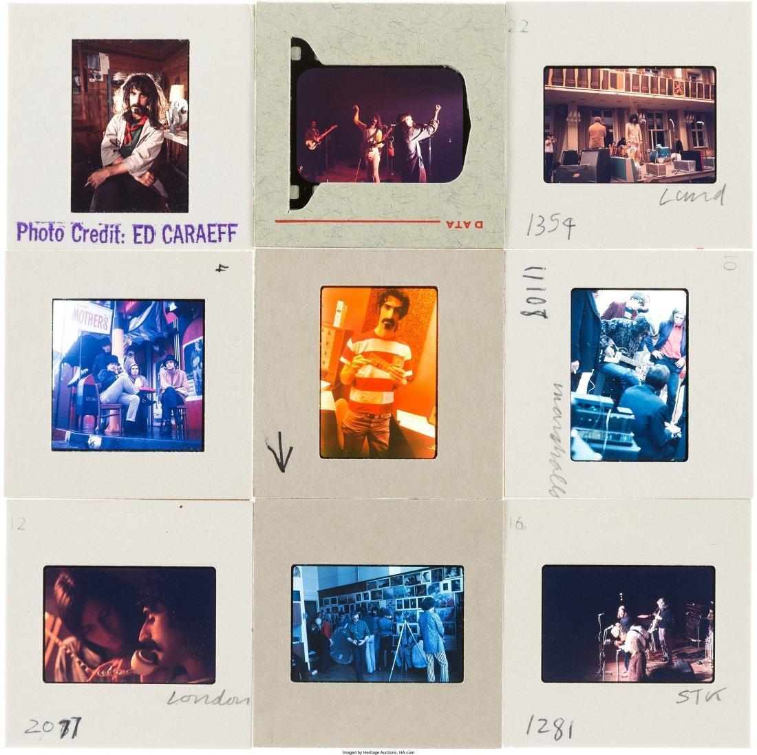 89578: Frank Zappa - Set of Fifty Color Photo Slides (L - 3