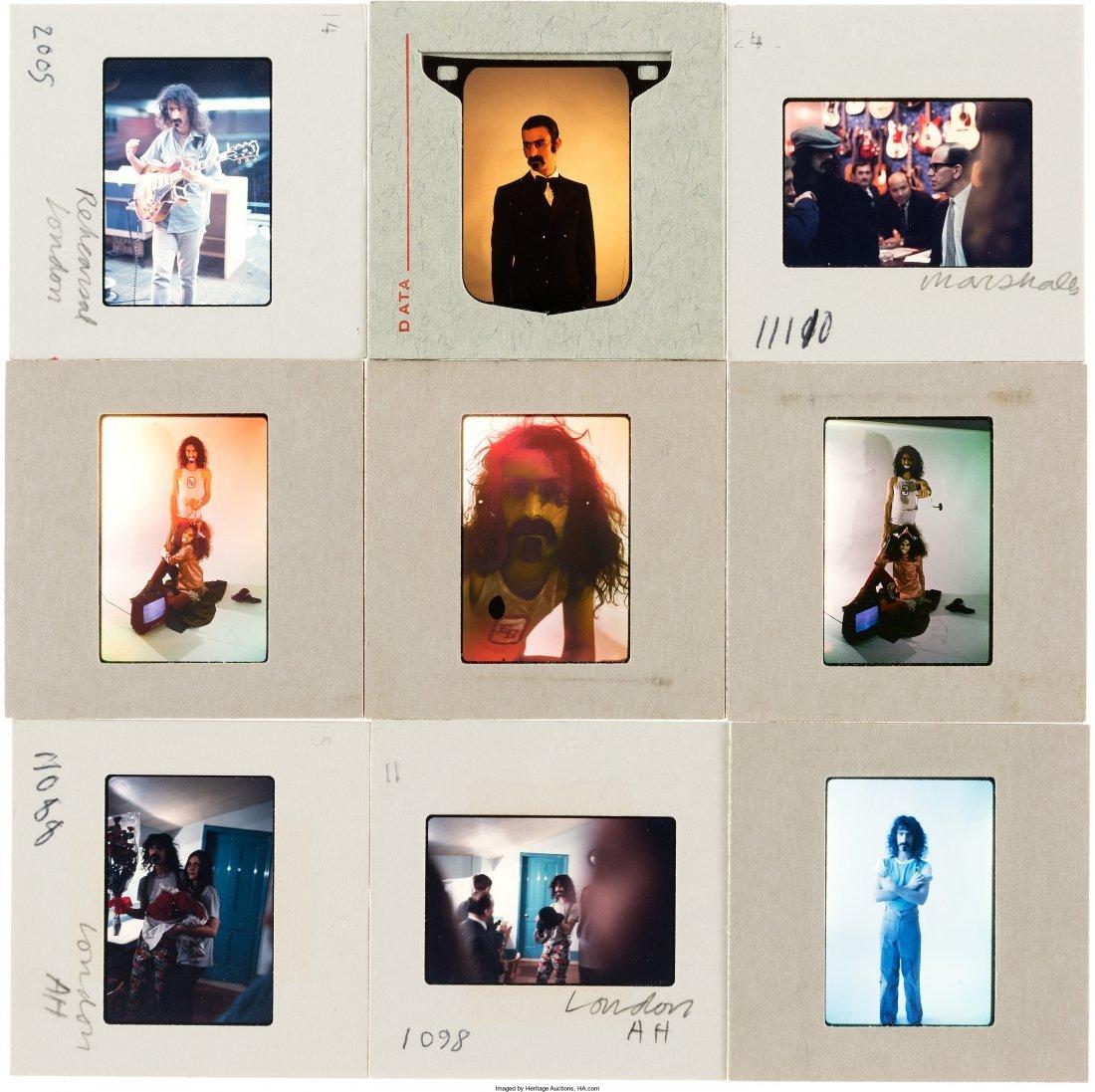 89578: Frank Zappa - Set of Fifty Color Photo Slides (L - 4