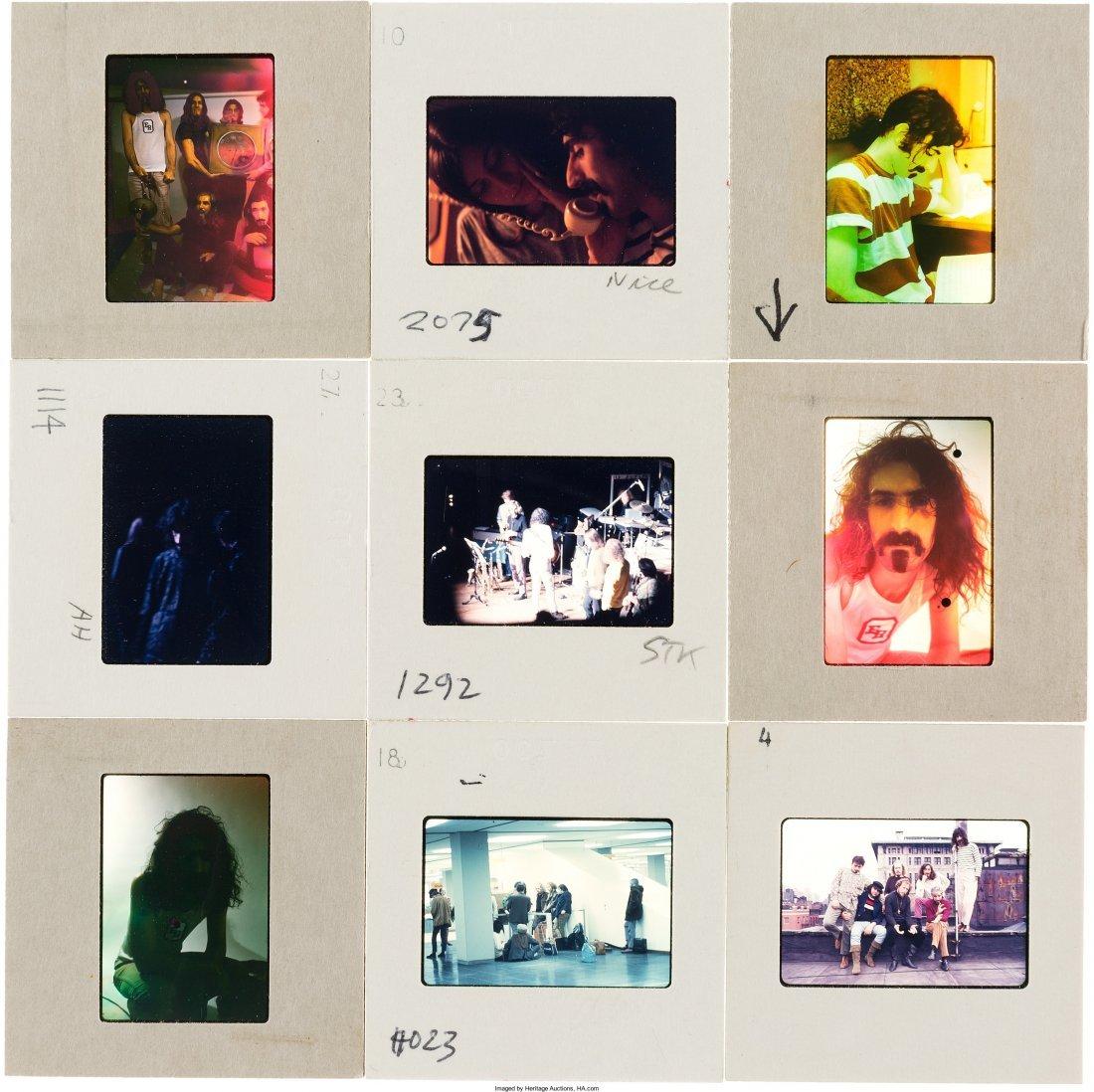 89578: Frank Zappa - Set of Fifty Color Photo Slides (L - 5