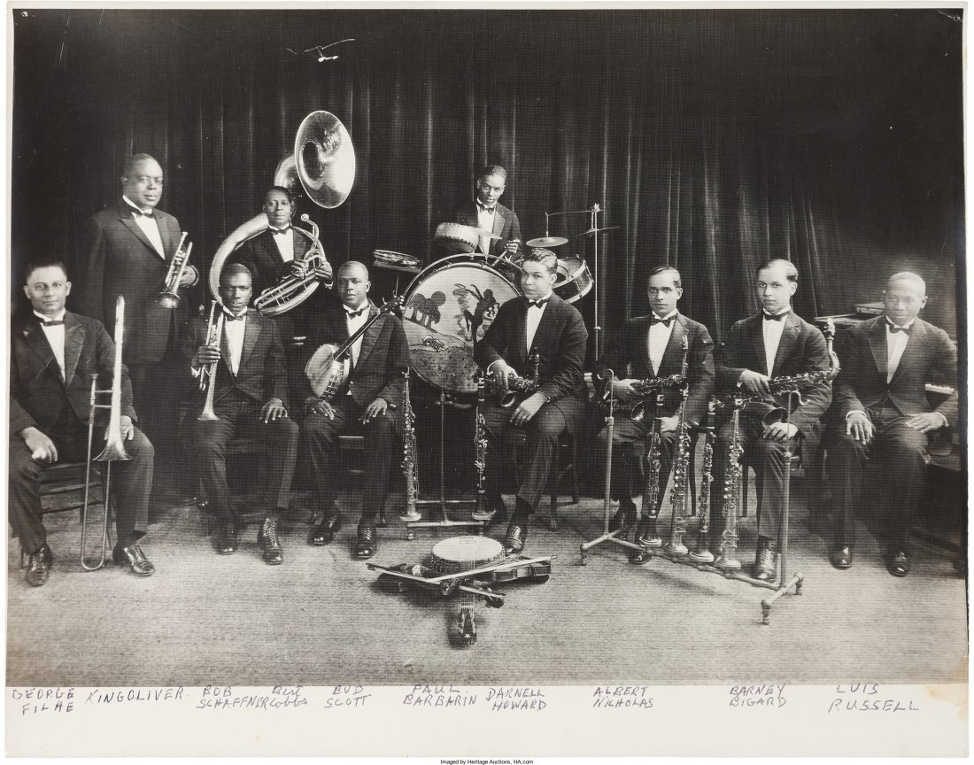 89469: Louis Armstrong Signed Photographs And Early Pho - 4
