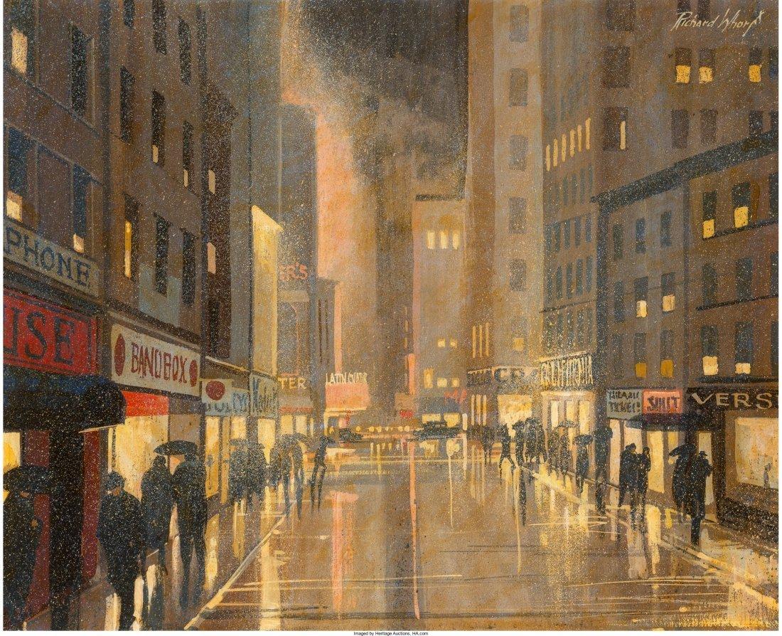 65007: Richard Whorf (American, 1906-1966) Chicago Jazz