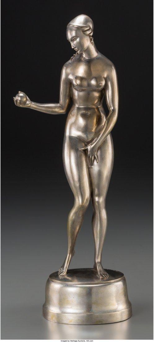 65109: Albert Allmann (German, 1890-1979) Eve, circa 19