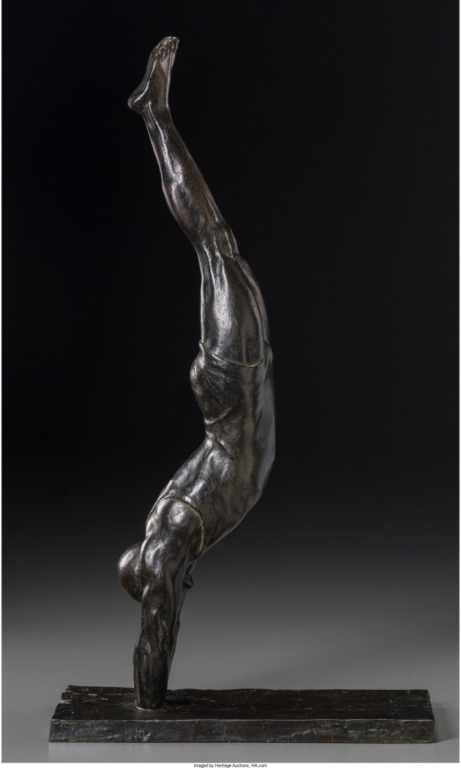 65111: Marcel Andre Bouraine (French, 1886-1948) Diver