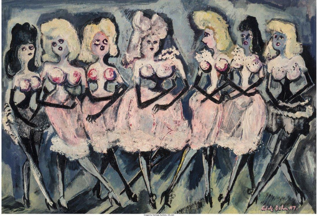 65210: Adolf Arthur Dehn (American, 1895-1968) Pink and