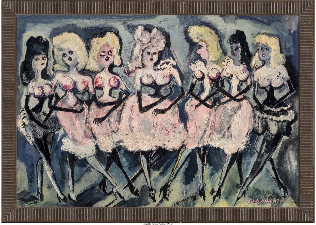 65210: Adolf Arthur Dehn (American, 1895-1968) Pink and - 2