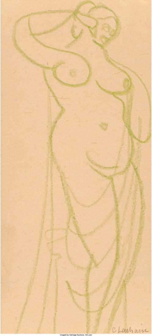 65130: Gaston Lachaise (French/American, 1882-1935) Fem