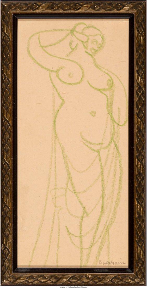 65130: Gaston Lachaise (French/American, 1882-1935) Fem - 2