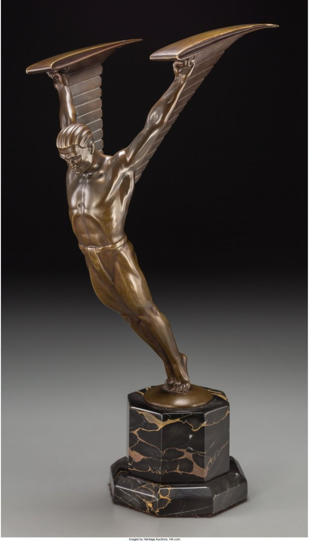 65239: Otto Schmidt-Hofer (German, 1873-1925) Icarus Br