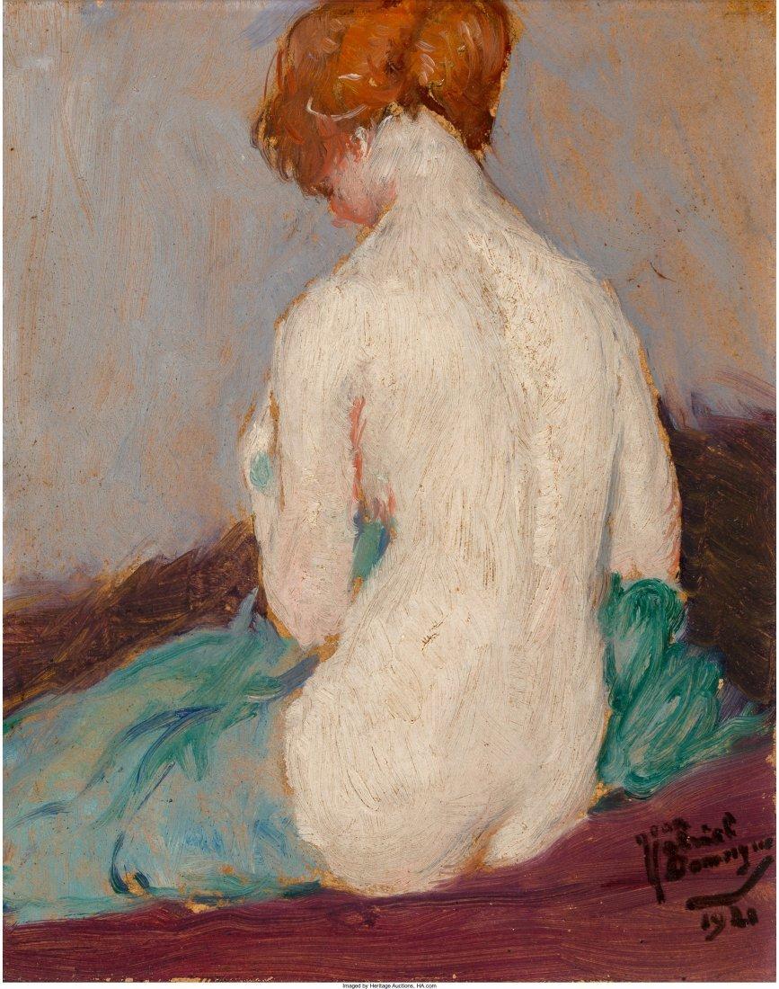 65255: Jean-Gabriel Domergue (French, 1889-1962) Suzann